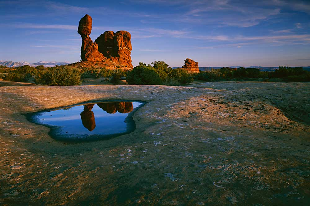 Balanced Rock, Arches National Park, Utah # 3018