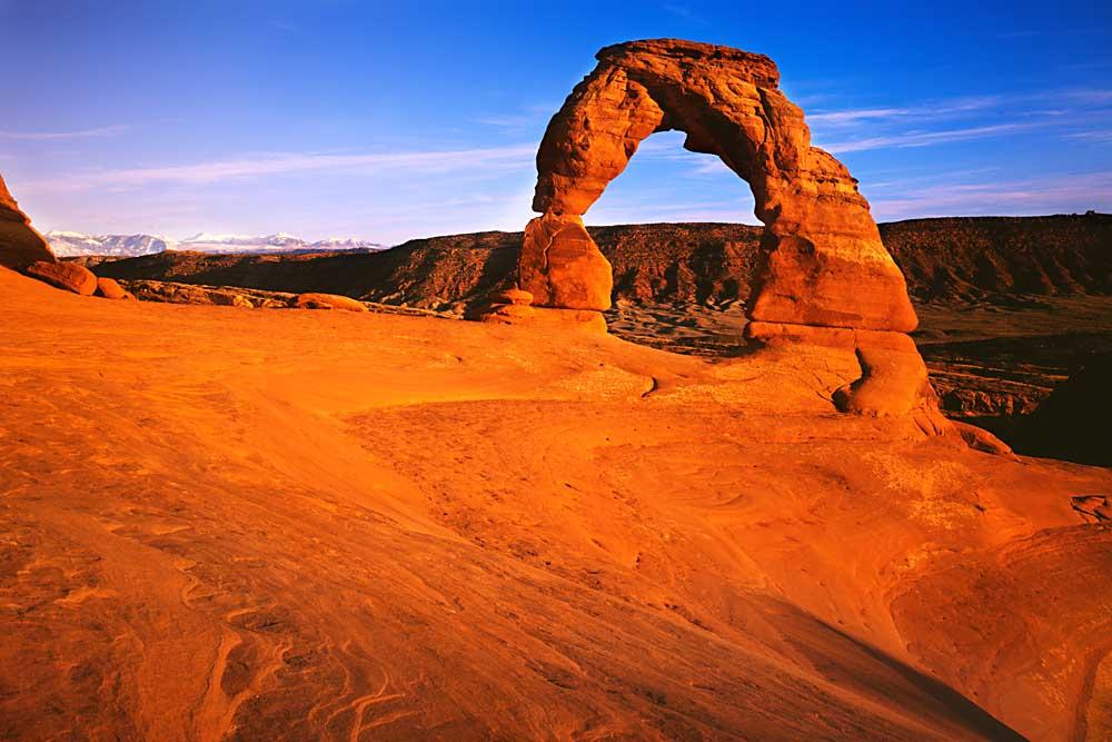 Landscape Arches, Delicate Arch, Arches National Park, Utah # 3030