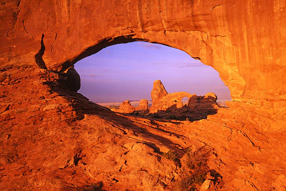 Skyline Arch, Arches National Park, Utah # 3160