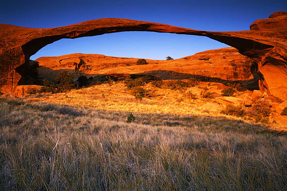 Landscape Arch, Arches National Park, Utah # 3164
