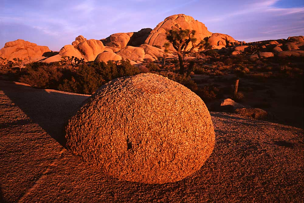 Granite Boulder, Joshua Tree National Park, California # 5393