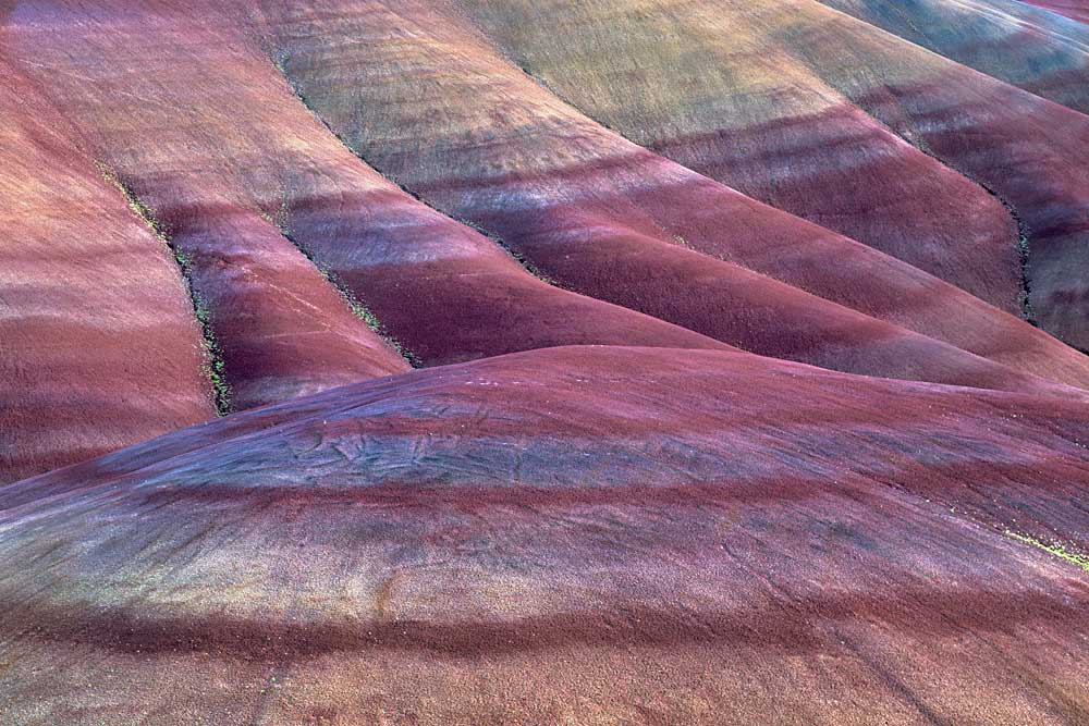 Painted Hills, John Day Fossil Beds National Monument, Oregon # 5544