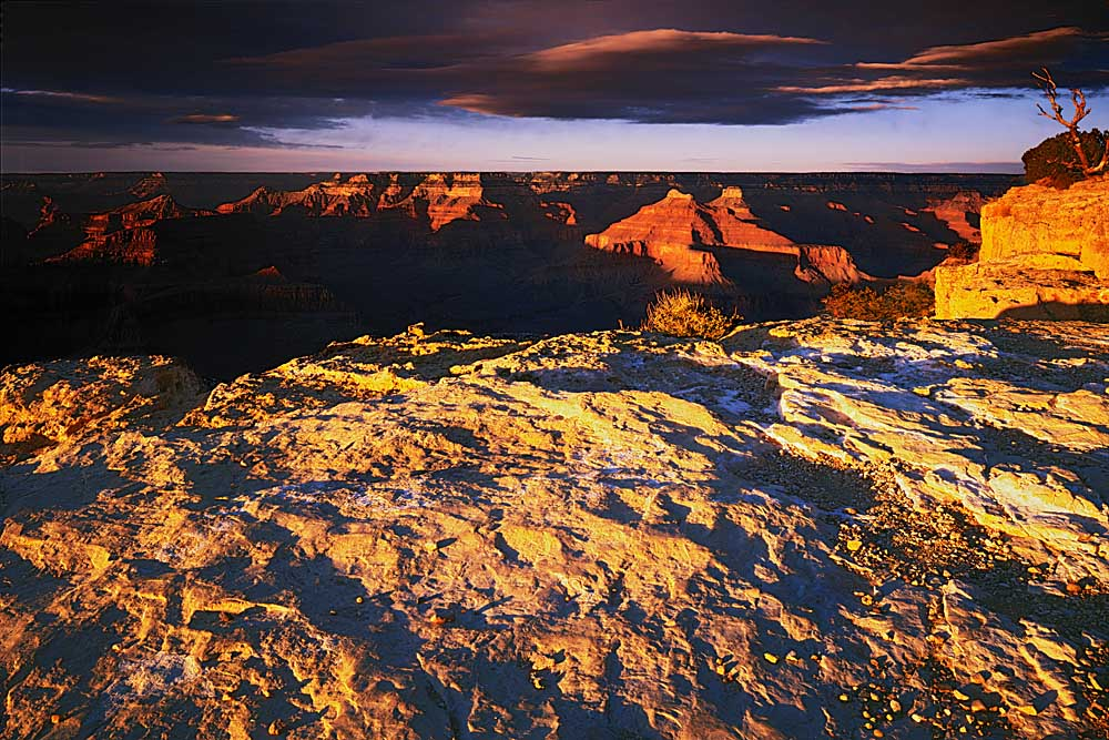 Sunset, Grand Canyon National Park, Arizona # 6014