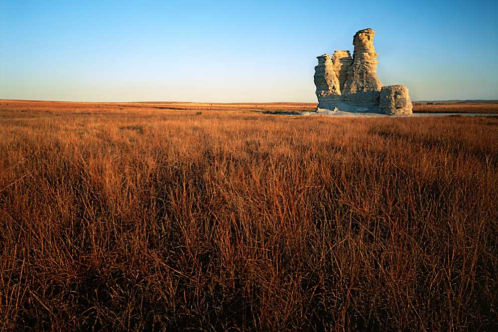 Castle Rock, Gove County, Kansas # 6426