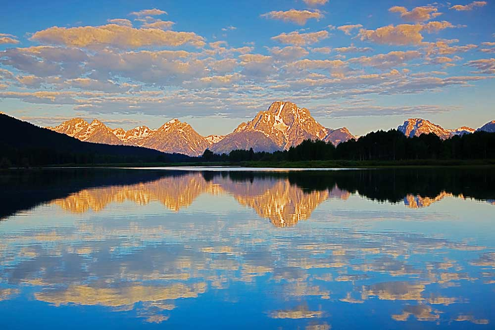 Oxbow Bend, Snake River, Grand Teton National Park, Wyoming # 0332c