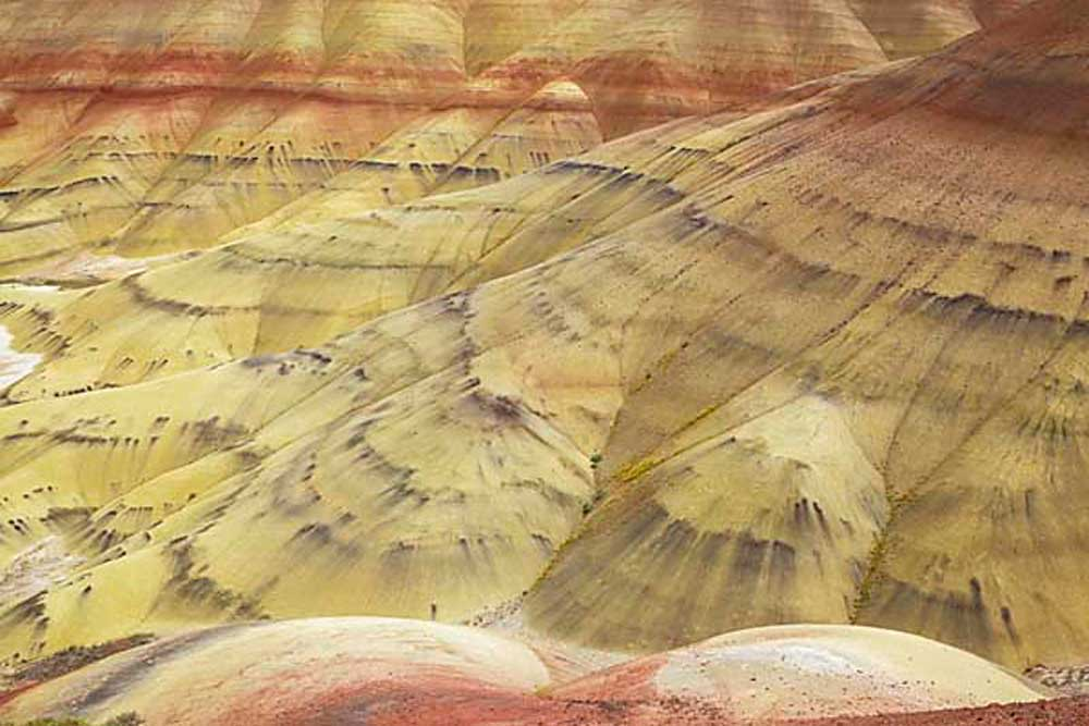 The Painted Hills Unit, John Day Fossil Beds National Monument, Oregon # 3578b