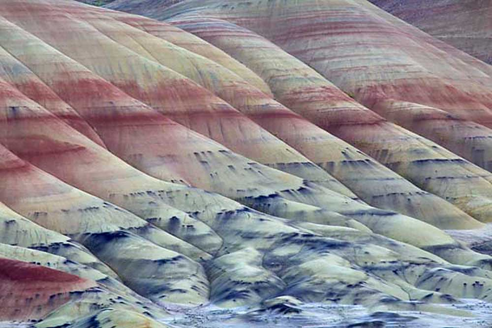 The Painted Hills Unit, John Day Fossil Beds National Monument, Oregon # 3670