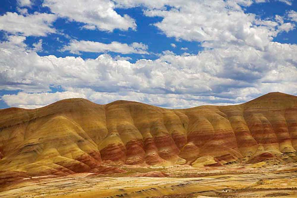 The Painted Hills Unit, John Day Fossil Beds National Monument, Oregon # 3671b