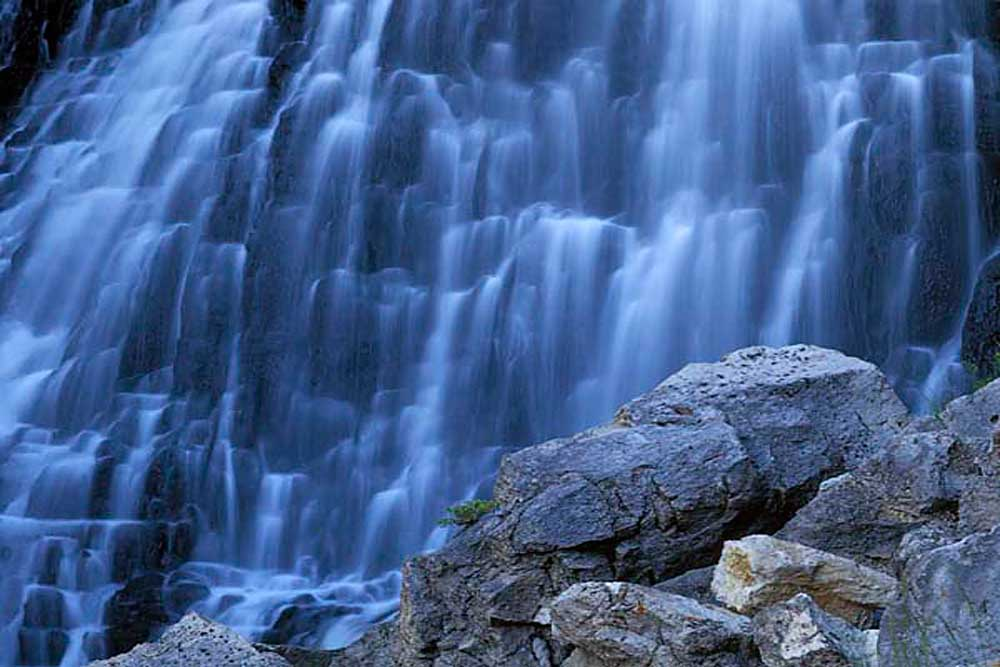 Rustic Falls, Yellowstone National Park, Wyoming # 4094