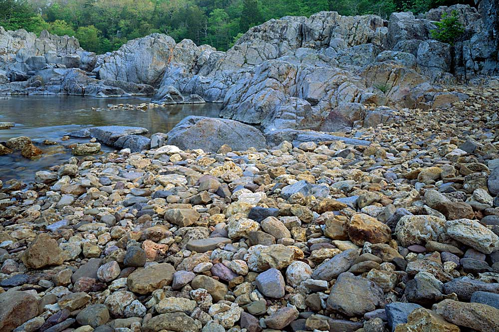 The East Fork of the Black River, Johnson's Shut-Ins State Park, Missouri # 7016