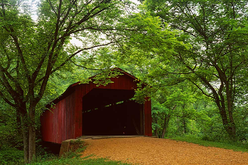Sandy Creek Covered Bridge State Historic Site, Jefferson County, Missouri # 7799