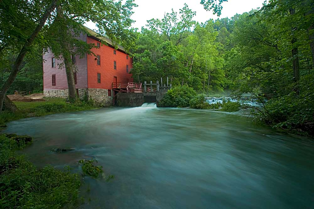 Alley Spring and Mill, Ozark National Scenic Riverways, Missouri # 8100