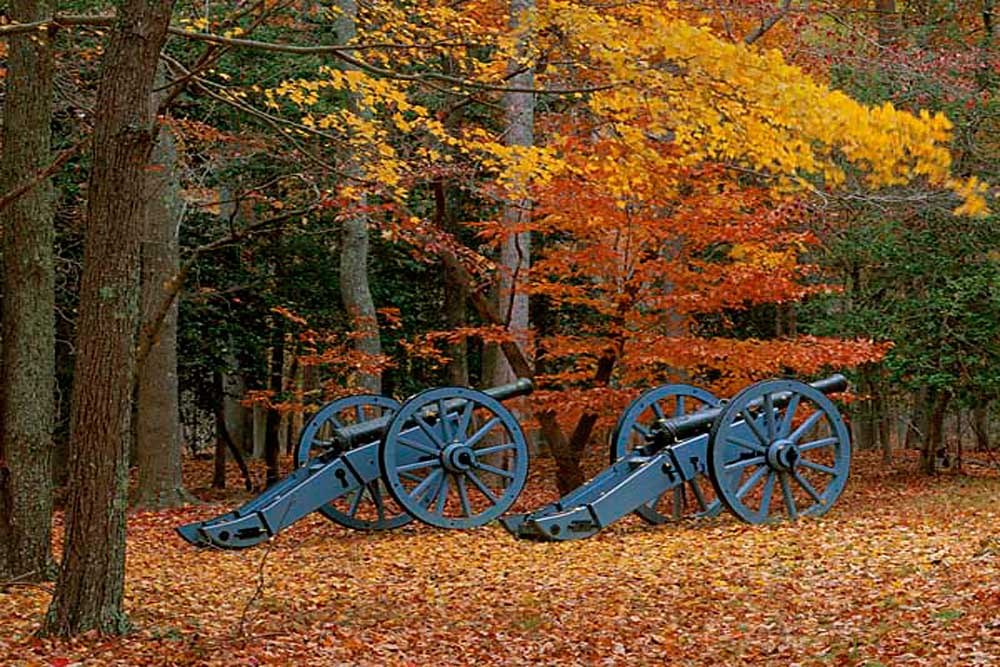 French Artillery at Yorktown, Colonial National Historic Park, Virginia # 9055h