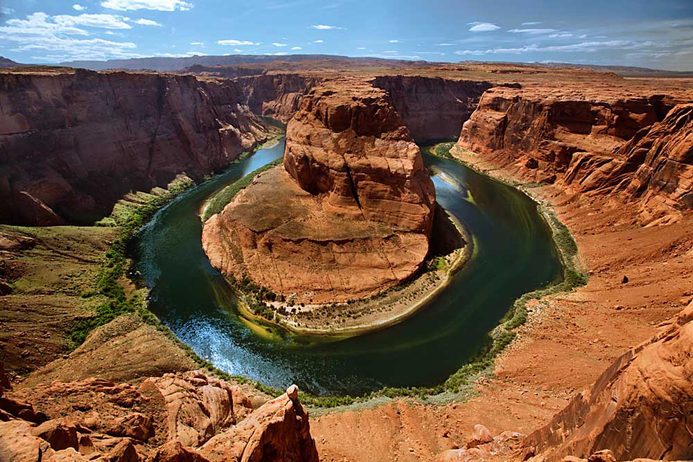 Horseshoe Bend, Marble Canyon, Colorado River, Arizona # 9422