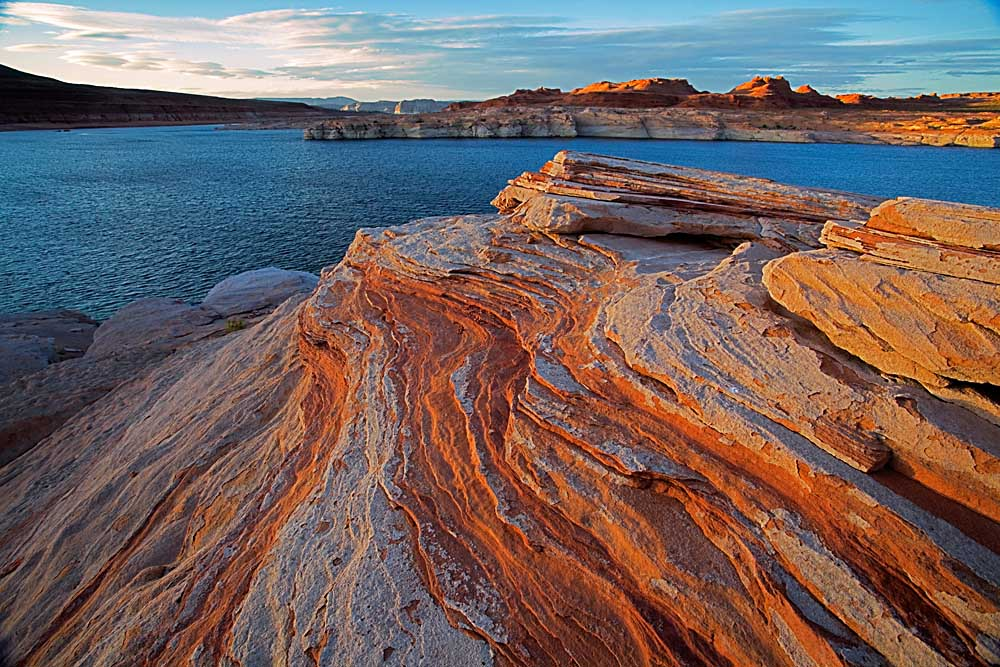 Near Page, Glen Canyon National Recreation Area, Lake Powell, Arizona # 9509