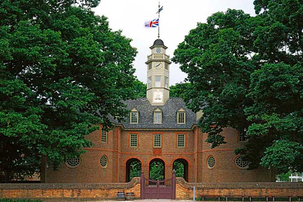 The Capitol, Williamsburg, Virginia # 9750