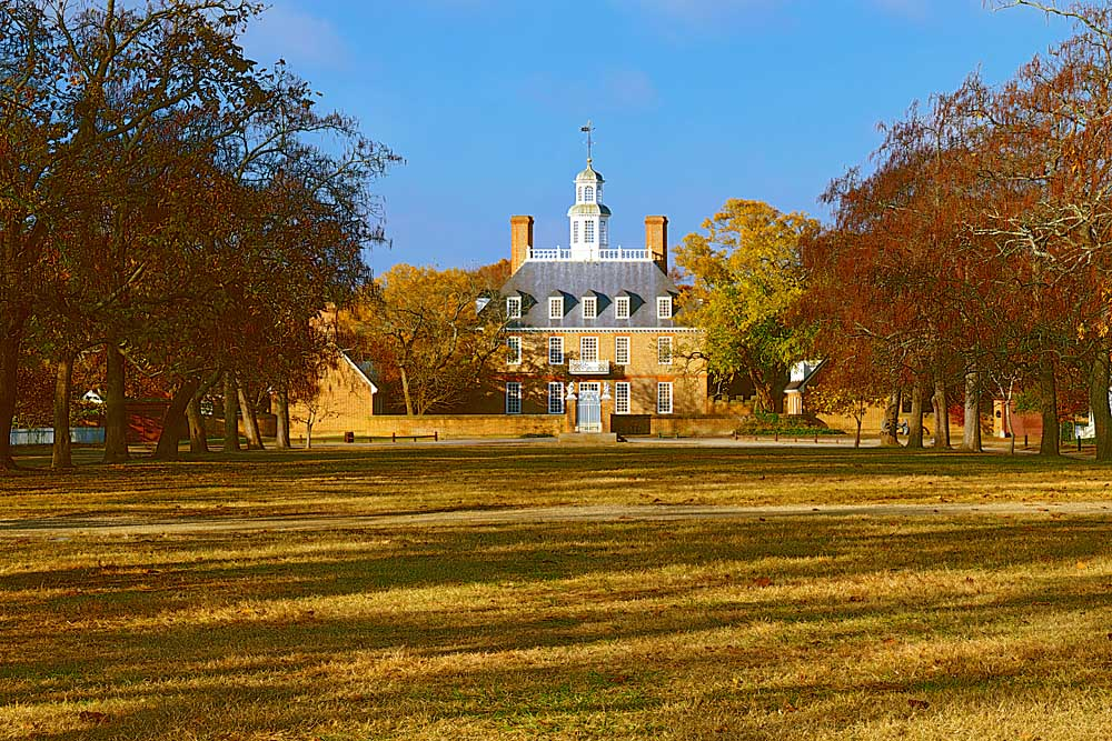 The Governor's Palace, Williamsburg, Virginia # 9805