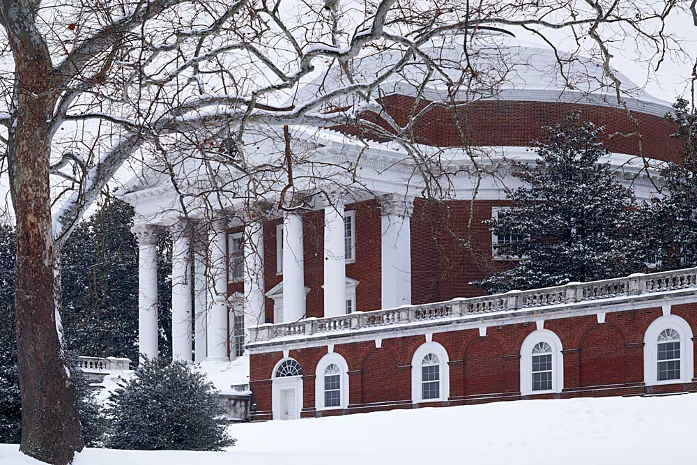 The Rotunda at the University of Virginia, Charlottesville, Virginia # 9842